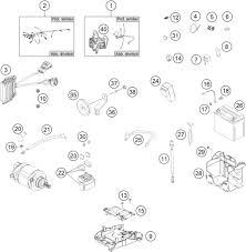 2014 ktm 350 exc f wiring harness parts best oem wiring kt0714036017 gif