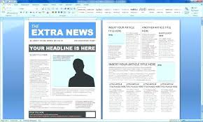 Magazine Article Format Template Online Magazine Article Template Front Website Templates