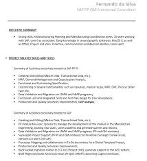 21 Free Sap Trainer Resume Samples Sample Resumes