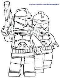 Lego Starwars Coloring Pages Star Wars Iii The Clone Wars Coloring