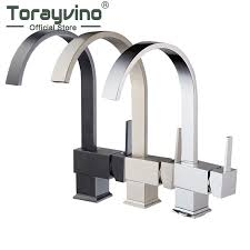 2019 bathroom faucet kitchen sink swivel nickel brushed basin mixer brass faucet vanity luxury mixer good quality tap from baolv 85 65 dhgate com