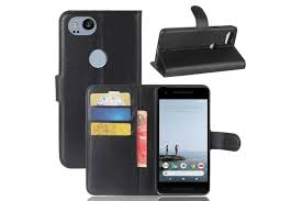 for google pixel 2 wallet case lychee durable protective leather cover black kogan com