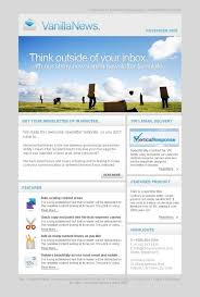 Template Sample Business Newsletter Free Email Templates For Word