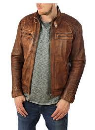 biker style soft fine leather zip detail j tan