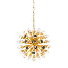 more views antares small gold chandelier
