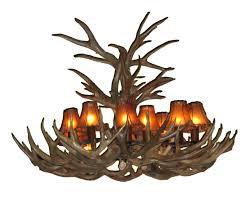 deer horn chandelier kit