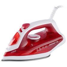 <b>Утюг Polaris PIR 2281 K</b> бело-красный — купить в интернет ...