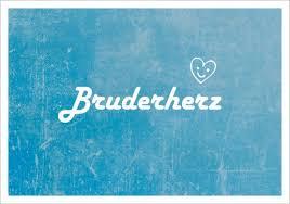 Postk Lq Bruderherz Postkarten Karten Littlepaper Shop