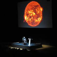who is stephen hawking universe today stephen hawking holding a public lecture at the stockholm waterfront congress center 24 2015