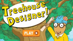 Arthur And Friends Game Video  Treehouse Designer Episode  PBS Treehouse Games Diego