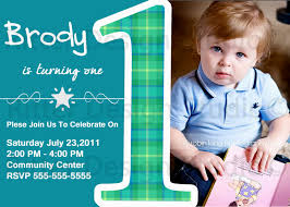 baby boy 1st birthday invitation free archives decorating of party