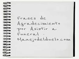 Tarjeta De Aniversario Luctuoso Carta Para Agradecer Asistencia Al Funeral Manejo Del Duelo