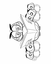 Small Picture Owl reading to a family Free Printable Coloring Pages