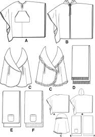 Poncho Sewing Pattern Inspiration Simplicity 48 Square Poncho