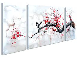 cherry blossoms wall art wonderful decoration cherry blossom canvas wall art amazon com black white red on amazon uk black and white wall art with cherry blossoms wall art wonderful decoration cherry blossom canvas