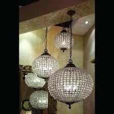 orb foyer light chandelier contemporary chandeliers for foyer foyer lighting 5 orb crystal lamp stunning home