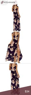 Haoduoyi Size Chart Hot New Haoduoyi Black Floral Maxi Wrap Dress Absolutely