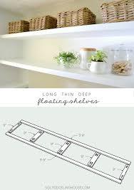 long deep thin sy floating shelves plans