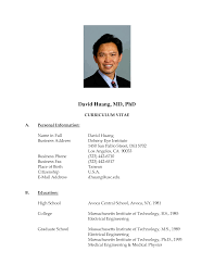 Resume Format Doc Resume For Study