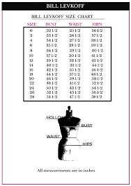 Bill Levkoff Size Chart Bill Levkoff Bridesmaid Dresses Levkoff 7052 Bill Levkoff