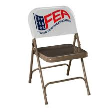 customized folding chairs. Custom Vinyl Chairback Cover | InkHead.com Customized Folding Chairs