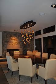dining room custom chandelier modern dining room