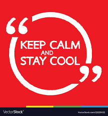 Keep Calm And Design On Keep Calm And Stay Cool Lettering Design