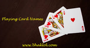 We make shopping quick and easy. Playing Cards Names With Pictures In English Hindi Know Here Bhaklol Com