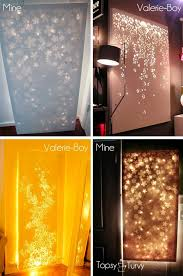 lit up canvas wall decor use any canvas apply stickers decal etc and spray paint remove decals hang white lights behind by abbyy on lighting up wall art with i soo want to do this lit up canvas wall decor use any canvas