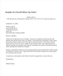 Folow Up Letter 64 The Follow Up Letter After Business Proposal You Should