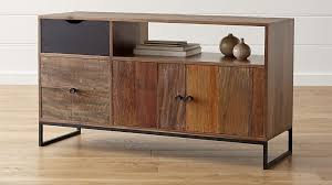 Atwood Reclaimed Wood Credenza in Filing Cabinets & Credenzas + Reviews |  Crate and Barrel
