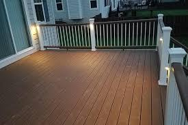 trex deck lighting. Tree House Trex Deck With Lights McHenry County Rock Within Lighting Inspirations 27 E