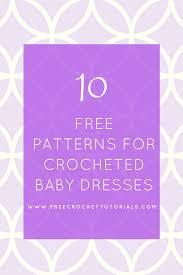Crochet Baby Dress Pattern New Design Ideas