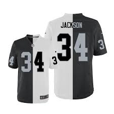 white Raiders Oakland Men's Jersey Jackson Elite Nike 34 Split Black Bo Fashion Nfl|2019 NFL Cheat Sheet