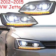 2014 Vw Jetta Daytime Running Lights 2pcs Tuning Cars Headlight For Jettamk6 Headlights Sagitar 2012 2013 2014 2015 Led Drl Running Lights Bi Xenon Beam Fog Lights