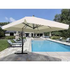 patio with square pool. 10\u0027 Square Cantilever Patio Umbrella With Pool O