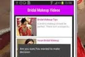 bridal makeup videos hd beauty salon 2017 apk screenshot