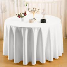 round polyester plain tablecloth white black hotel table cloth of wedding vintage home table cloth rectangular dining table covers clear plastic