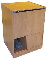 covered cat litter box furniture. Kitty Litter Box Furniture Oak Cat Washroom  Cabinet Diy Covered