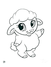 Cute Cartoon Animal Coloring Pages Baby Animal Coloring Pages