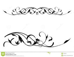 Decorative Line Clip Art Scroll Line Clipart Decorative Lines Large Image Scroll