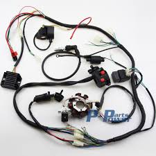 popular atv wiring harness buy cheap atv wiring harness lots from complete electrics cdi wire harness for atv quad 300cc 250cc 200cc 150cc zongshen lifan