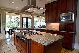 kitchen island with range kitchen island cooktop ideas