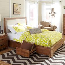 Driftwood Bedroom Furniture Waverly Fabric Upholstered Storage Bed In Driftwood By Cresent