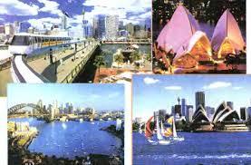 Население Австралии География Реферат доклад сообщение  Рис 104 Сидней