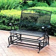wrought iron glider bench wrought iron patio glider bench wrought iron glider bench wrought iron glider
