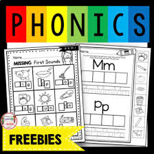 Kindergarten phonics worksheets, short vowels,a,e,i,o,u, phonics printables for kindergarten, beginning consonants, ending consonants, learn to read, short vowel a, short vowel e, word families at, an, et, est, ed, hard g, writing letters, handwriting, word formation, how to read words, for children. Phonics Worksheets Beginning Sounds Teachers Pay Teachers