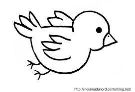 Coloriage A Dessiner Oiseau Stylise L L L L L L L