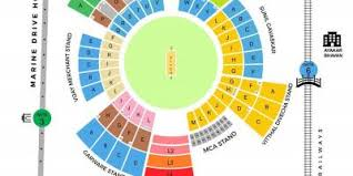 Wankhede Seating Chart Wankhede Stadium Seating Map Map Of Wankhede Stadium