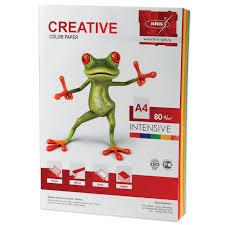 <b>Бумага CREATIVE color</b> (<b>Креатив</b>) А4, 80 г/м2, 100 л., (5 цв.х20 л ...